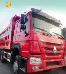 Uitstekende Vrachtwagen van de Stortplaats van de Voorwaarde HOWO 371HP Gebruikte 10 de Vrachtwagen van de Kipper van Sinotruk van Banden voor de Markt van Afrika