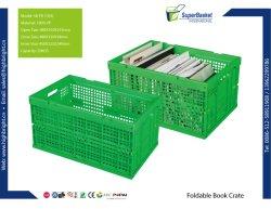 بلاستيك قابل للطي تخزين نباتي قابل للتكديس تنقل حاوية التخزين