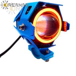 Los transformadores U7 Angel Eye motocicletas faros LED