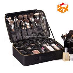 Cosmética profesional bolsa de maquillaje Belleza caso Case Negro bolsa de cosméticos