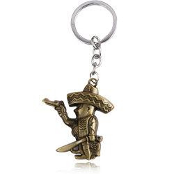 De Gift van Keychain van het Metaal van de Legering van het zink voor Premie