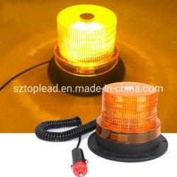 Amber LEIDENE van de Lamp van de Veiligheid van de Vorkheftruck van de Noodsituatie van de in het groot LEIDENE DC12-24V Waarschuwing van het Knipoogje de Lichte Magnetische Lamp van het Baken