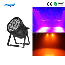 LED Asgd Luzes nominal 54X4w RGBW 4NO1 Lavar Luz Discoteca DMX Efeito do controlador para pequenas Paty KTV iluminação de palco