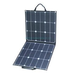 Dobre as células PV 100W 120W 160W Camping Escalada Painel Solar Módulo Solar Dobra portáteis de carga de energia exterior