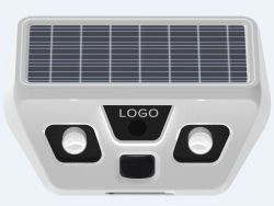 Derechos de la inducción de la luz solar LED Sensor solar exterior con cámara de video