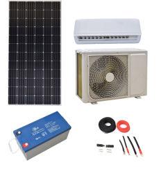 18000وحدة حرارية بريطانية مكيف هواء تيار مستمر بالطاقة مع لوحة شمسية وبطارية، سعر مكيف الهواء العامل بالطاقة الشمسية 48 فولت تيار مستمر