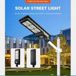 120W 180W Lampadaire Solaire intégré IP65 prix bon marché le capteur de mouvement Garden Voyant DEL de la campagne des feux de route Courtyard Rue lumière solaire