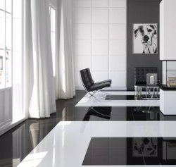 [600600مّ] لامعة سطحيّة فائقة صاف سوداء يصقل خزف قرميد لأنّ جدار وأرضية