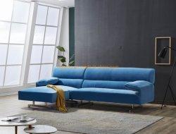 Comfortabele stof Europese stijl eenvoudige woonkamer Sofa Set Home Meubilair
