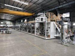 China machine Full Servo Vrouwelijke Hygiëne Sanitair Napkin Pad machine Met CE-certificering