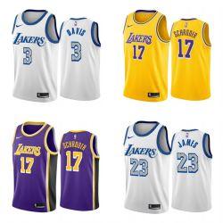 2020 N-B-A nieuwe aankomsten & Hotsales Lakers Basketball City Jerseys