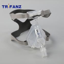 سيليكون CPAP قناع الوجه الكامل تصميم قطعة واحدة مقاس S M L