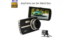 Lente dupla carro HD DVR/Caixa Preta /Gravador de Vídeo/ Viehcle Gravador automático para a segurança do condutor acidente