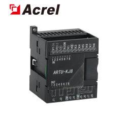 8電気メートルデータのためのデジタル入力RTUのリモートが付いているAcrel Artu-Kj8入力/出力のモジュールは集まる