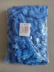غطاء رأس حلاقة مقاوم للمياه قابل للاستخدام مرة واحدة وحوض استحمام كبير مصنوع من البلاستيك PE الغطاء
