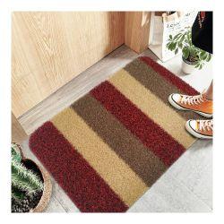 Pp. bedecken Antibeleg Belüftung-Schutzträger-Fuss-Matte für Innen-/heraus Tür Tür-/Wool-Matte der Tür-die GleitschutzCapter/PVC/Hotel mit Gras