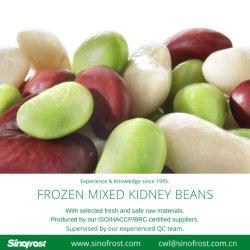 混合乾燥豆、冷凍調理混合豆(赤腎豆、白腎豆、チクペなど)