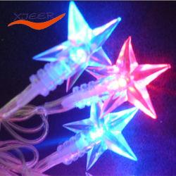 ضوء النجوم خماسي الدوبليور DC12 فولت متعدد الألوان لتزيين الإضاءة