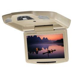 Écran panoramique 10,2 pouces de gros d'usine Voiture Lecteur de DVD monté sur le Toit Voiture Flipdown moniteur avec le président IR SD/USB