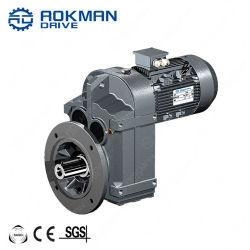 صندوق تروس موتور متوازٍ من الفئة F مزود بمحور حلفي مع ثلاثي الأطوار الموتور الكهربي
