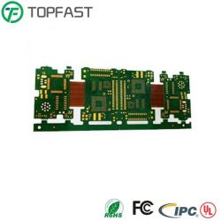لوحة دوائر لوحة الدوائر الكهربائية الإلكترونية المرنة الصلبة F4+Pi من أجل أجزاء الهاتف المحمول