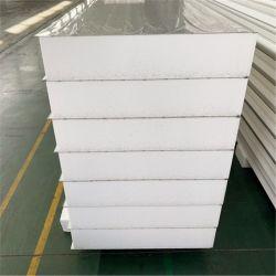 ENV-Rockwool Polyurethanpolyisocyanurate-Schaumgummi-Gebäude-Halle-Aufbau-Stahlzwischenlage-Panel-Großhandelspreis Glaswolle PU-PIR am besten für Decken-und Dach-Wand