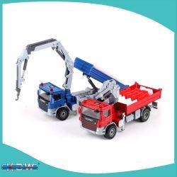 Kdw Die Cast Model Truck Atego مع الرافعة