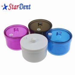치과 다채로운 소독 Burs 또는 파일 정리를 위한 플라스틱 Burs 홀더 상자