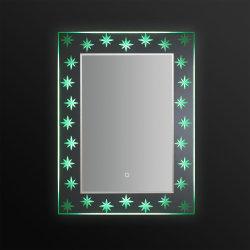[جنه278] بلورة حقيرة يضاء غرفة حمّام مرآة مع [تووش سكرين]
