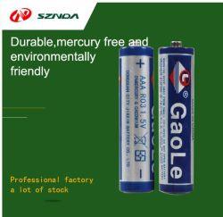 No.7 배터리 AAA 카본 드라이 배터리 1.5V R03 징크망간 배터리(바닥 포함), 환경 친화적이고 내구성 있는 커버(누출 없음