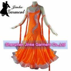 Оранжевый бальный зал костюмы для девочек
