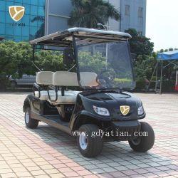 Última 4 Lugares operado a bateria carrinho de golfe carro com certificado CE