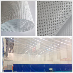 Корпус из негорючего материала с покрытием из ПВХ полиэфирная ткань Mesh большой тренажерный зал шторки