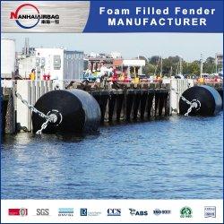 EVA Polyurea recubrimiento rociado de Puerto Marina guardabarros rellenos de espuma para la nave Embarcadero Barco de parachoques del guardabarros de goma
