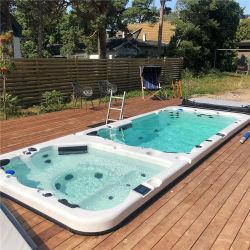 Flexibler Preis Hydromassage im Freien heiße WanneSwim BADEKURORT Pool kombiniert