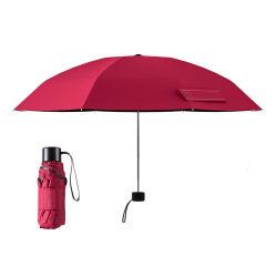 작은 미니 접이식 우산, 여행 우산, 포켓 우산, 레이디 선물 프로모션 우산