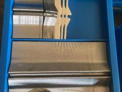 Tongda spinnende Webstuhl-Ersatzteil-Stahlschilf für Luft-Strahlen-Webstuhl