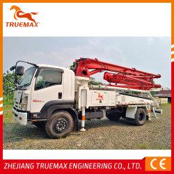 Pomp van de Boom van Truemax de Op zwaar werk berekende Beton vrachtwagen-Opgezette