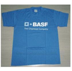 カスタムロゴによって印刷される昇進160gsm綿の不足分の袖のTシャツ