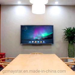 65 75 86 98 Zoll-Touch Screen intelligenter Fernsehapparat-Bildschirmanzeige-Flachbildschirm interaktives Whiteboard für Sitzungs-Konferenz-Klassenzimmer-unterrichtende Ausbildung