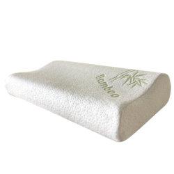 Le contour de gros oreillers en mousse à mémoire de forme oreiller oreiller oreiller de charbon de bois de filtre en coin arrière