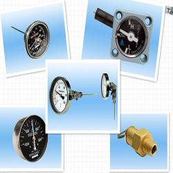 Thermomètre de jauge de niveau d'huile de transformateur de relâchement de pression indicateur de température du bobinage de soupape