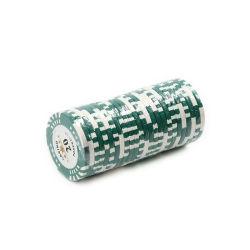 택사스 세라믹 카지노 소형 부지깽이 칩을 인쇄하는 로고