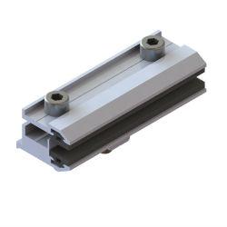 Система питания солнечной энергии монтажной структуре и PV скобки используются тонкий слой алюминия зажим
