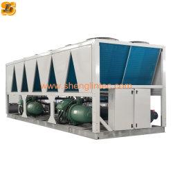 化学工業ねじ圧縮機が付いている空気によって冷却される水スリラー