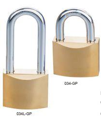Alta segurança disco cromada cadeado de ferro (034)