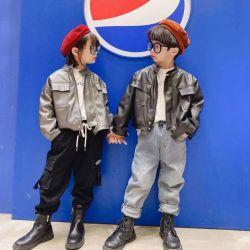 Nouveau Style d'enfants d'hiver, Fashion veste de cuir, de haute qualité manteau chaud. Fille d'usure. Les enfants d'usure. Les enfants de vêtements. Les vêtements pour enfants. Les enfants de l'habillement.