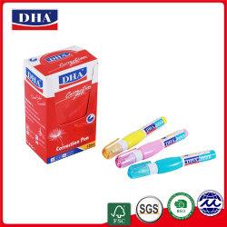 Коррекция производителем пера образец свободного OEM приветствовал пера коррекции корректирующей жидкостью DH-843