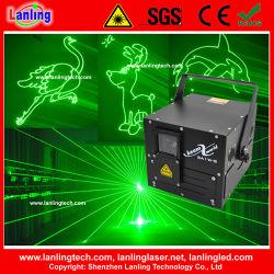 Лидеров продаж Ilda зеленый DJ лазера с карты памяти SD