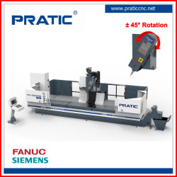 4 Achse hohe Präzision Fräsen Bohren Schneiden CNC Vertikale Maschine Für die Herstellung von Autoteilen